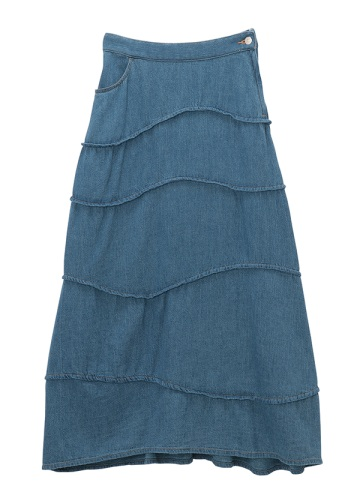 TSUMORI CHISATO / ソフトツィルデニム / スカート