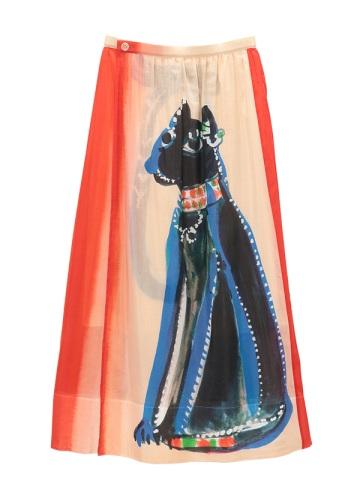 TSUMORI CHISATO / エジプトビッグキャット / スカート
