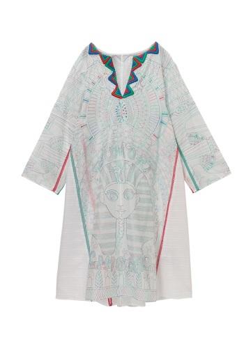TSUMORI CHISATO / エジプト刺繍 / ワンピース