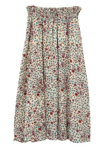 TSUMORI CHISATO / さばくの花コットンT / スカート