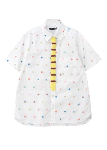 TSUMORI CHISATO / メンズ ニュージー刺繍シャツ / シャツ