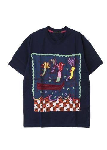 TSUMORI CHISATO / メンズ 海洋生物エンブロンダリーT / Tシャツ
