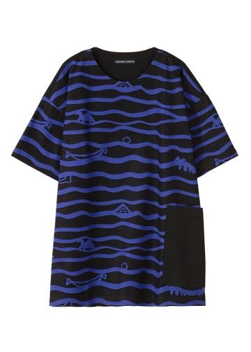 TSUMORI CHISATO / メンズ ウネウネジャガード / Tシャツ