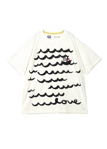 <先行予約> TSUMORI CHISATO × HELLY HANSEN / メンズ ナミナミボーダー / カットソー