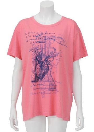 【SALE】ZUCCa / S ハートT / Tシャツ dark pink(19)