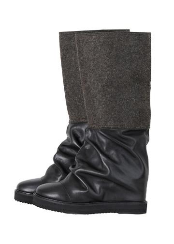 ZUCCa / (O) フェルトパンツブーツ / ブーツ