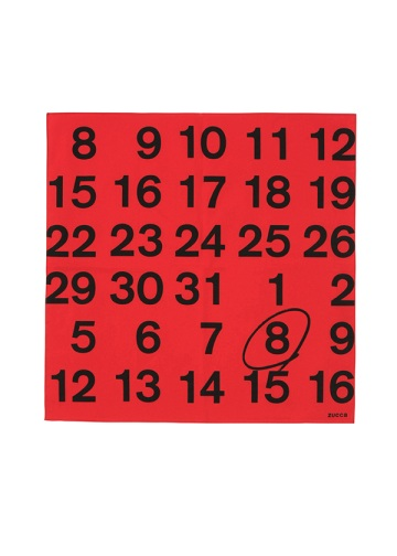 ZUCCa / S Calendar / バンダナ