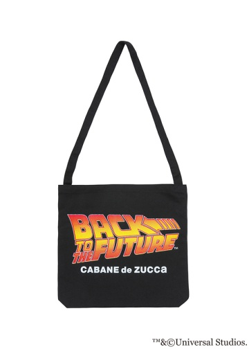 ZUCCa × BACK TO THE FUTURE / S BTTF LOGO BAG / トートバック