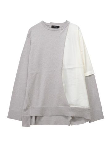 ZUCCa / S ドッキングセーター / ニット
