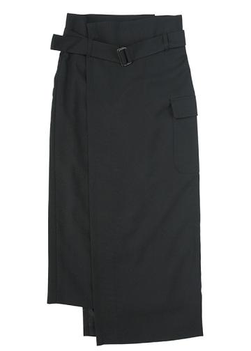 ZUCCa / キュプラウールサージ / スカート