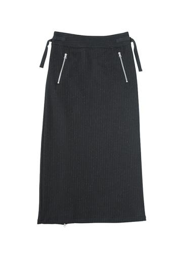 ZUCCa / ストライプウールジャージィー / スカート