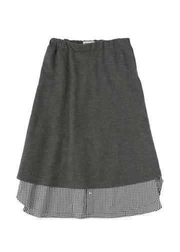 ZUCCa / シャツドッキング / スカート
