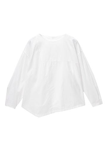 ZUCCa / (S)ストライプMIXシャツ / ブラウス