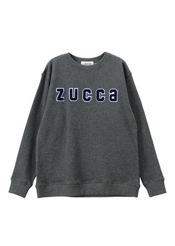 ZUCCa / ワッペンロゴ裏毛 / トレーナー