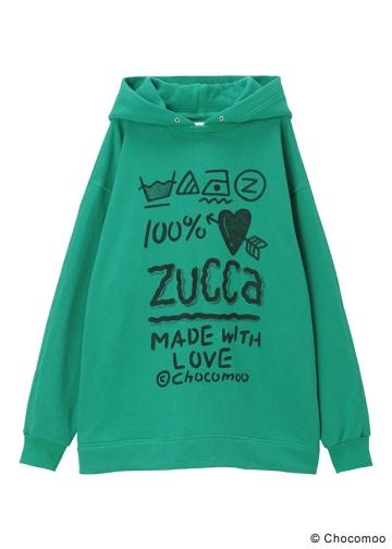 <先行予約> ZUCCa / (S)Chocomoo×ZUCCa 100%裏毛 / カットソー