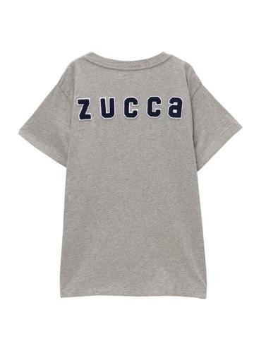 ZUCCa / S ワッペンロゴTシャツ / カットソー