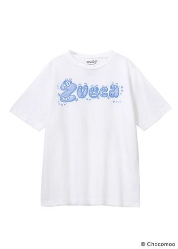 <先行予約> ZUCCa / (S)Chocomoo×ZUCCa ロゴT / Tシャツ