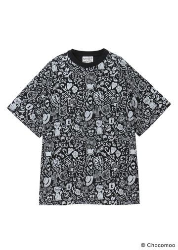 <先行予約> ZUCCa / (S)Chocomoo×ZUCCa マルチ BIG T / Tシャツ