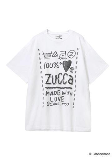 ZUCCa/Chocomoo×ZUCCaBIGT100%/Tシャツ