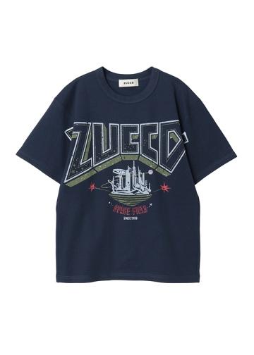 ZUCCa / GF (R)BLUE T / カットソー
