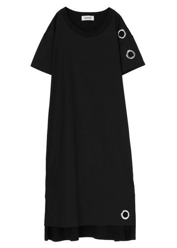 <先行予約> ZUCCa / C:ビッグアイレットTシャツ / ワンピース