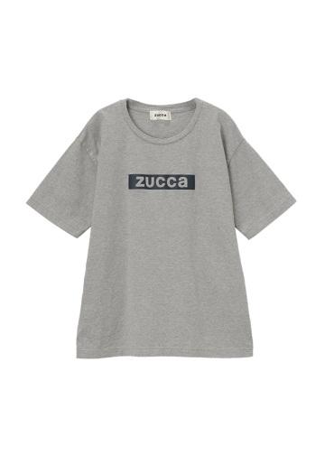 <先行予約> ZUCCa / ステッカーロゴTシャツ / カットソー