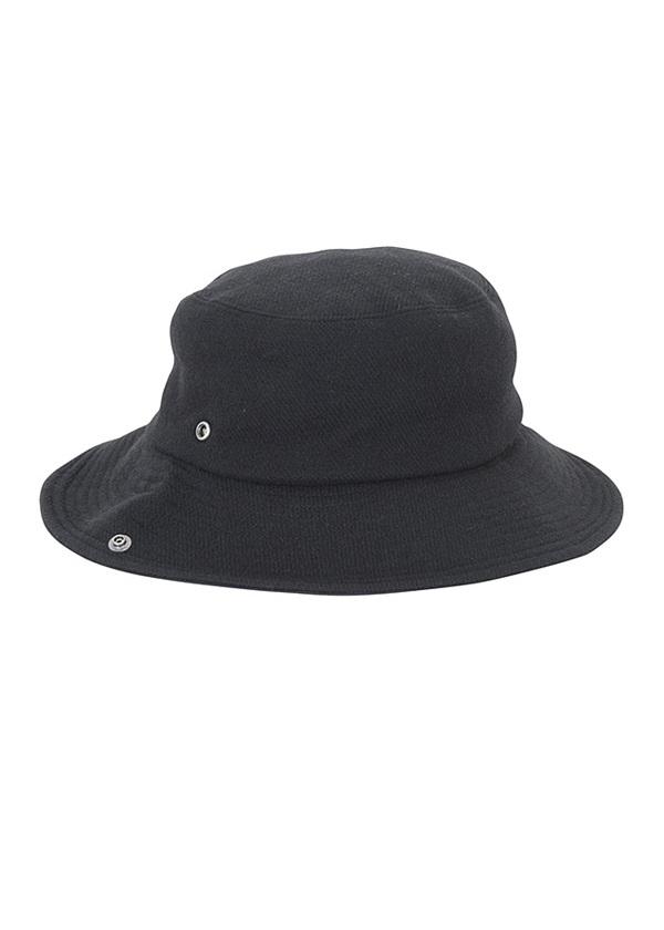 ZUCCa / GF ワイドブリムハット / 帽子 黒