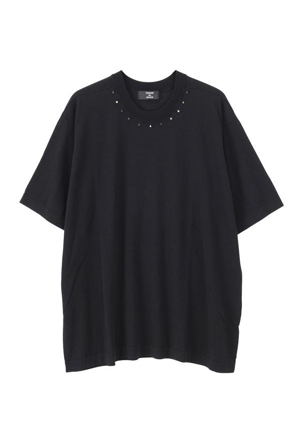 【SALE】ZUCCa / PD メンズ スタッズニット / セーター 黒