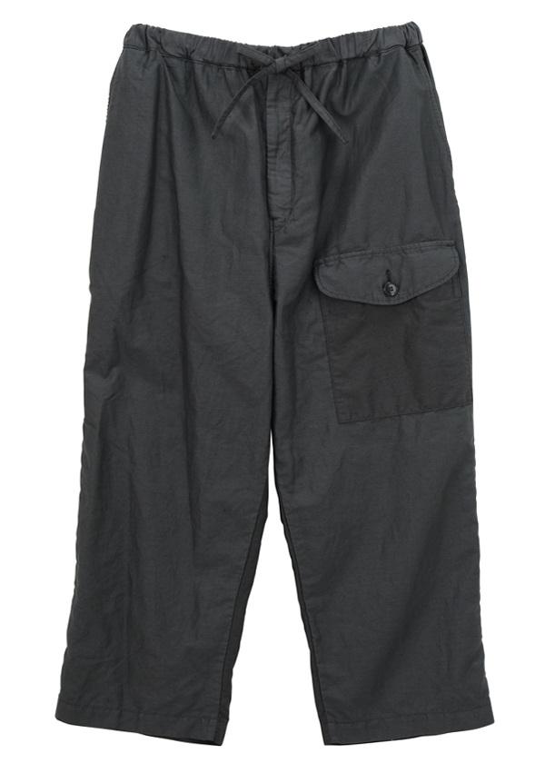 【SALE】ZUCCa / S メンズ ライトモールスキン / パンツ チャコールグレー