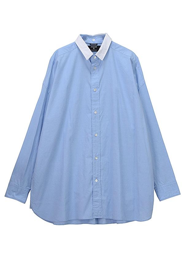 【SALE】ZUCCa / S メンズ ブロード / シャツ ブルー