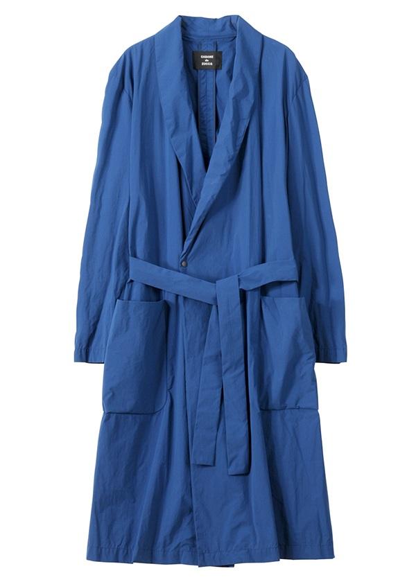 【SALE】ZUCCa / S メンズ ダウンプルーフナイロン / コート ブルー