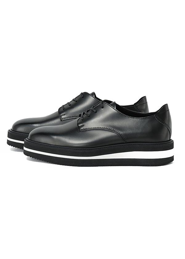 ZUCCa / GF メンズ ライトプレーントゥ / ブーツ 黒