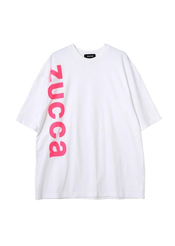 ZUCCa / メンズ LOGO Tシャツ / Tシャツ ピンク