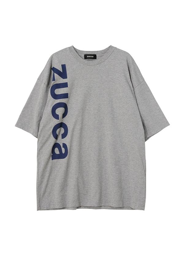 ZUCCa / メンズ LOGO Tシャツ / Tシャツ グレー
