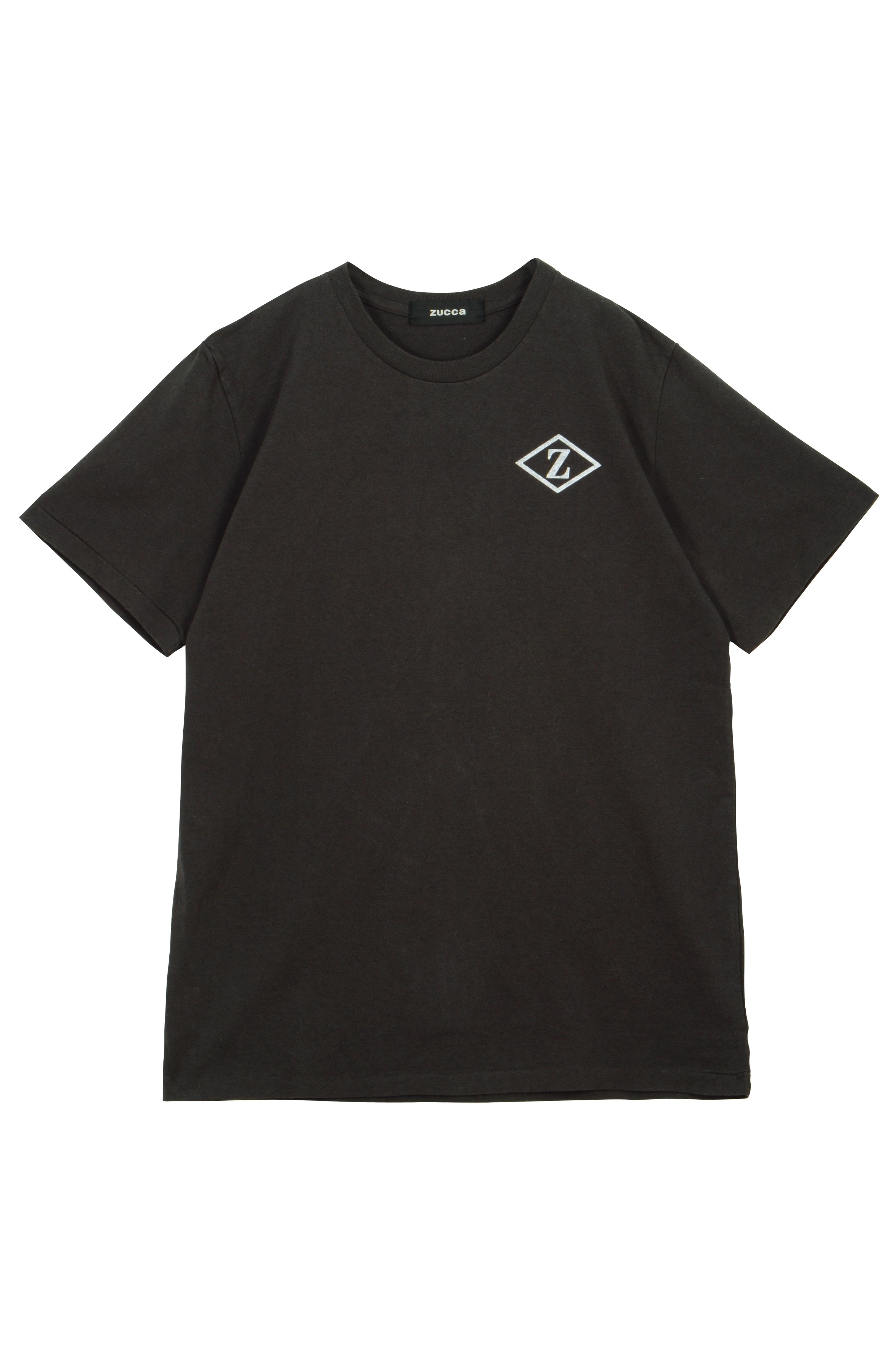 ZUCCa / GF メンズ (30)Z_ICON Tシャツ / Tシャツ チャコールグレー