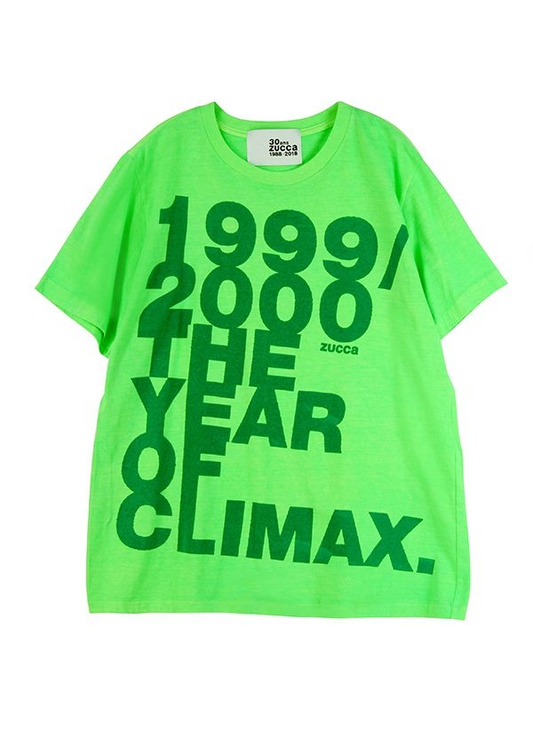 ZUCCa / メンズ THE YEAR OF CLIMAX / Tシャツ ライトグリーン
