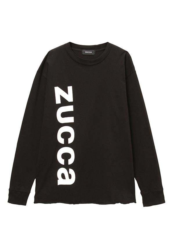 ZUCCa / (S)LOGOロンT / シャツ 黒