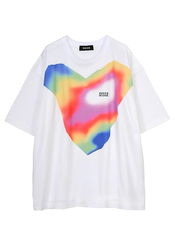 ZUCCa / メンズ (R)サーモグラフィT / Tシャツ 白
