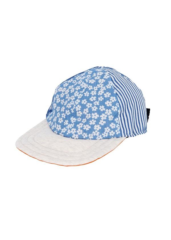 【SALE】メルシーボークー、 / PD ハナシャンボー / 帽子 ブルー