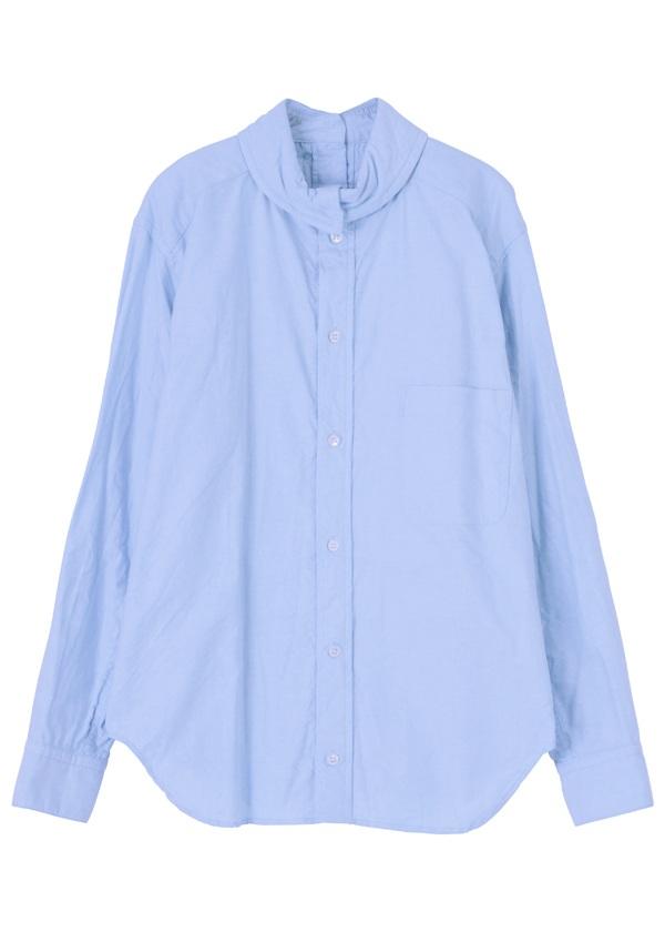 【SALE】メルシーボークー、 / S ハイシャツ / シャツ ブルー