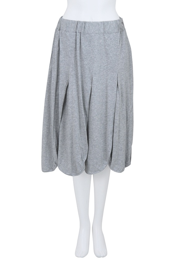 【SALE】メルシーボークー、 / PD B:ハッパソー / スカート シルバーグレー