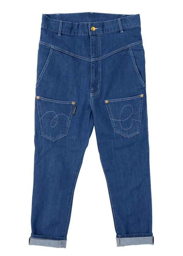 【SALE】メルシーボークー、 / S メンズ B:うしろまえデニム / パンツ ブルー