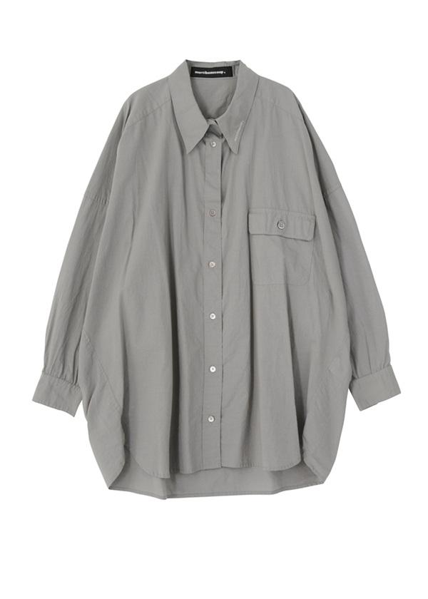 B:メンシャツ グレー