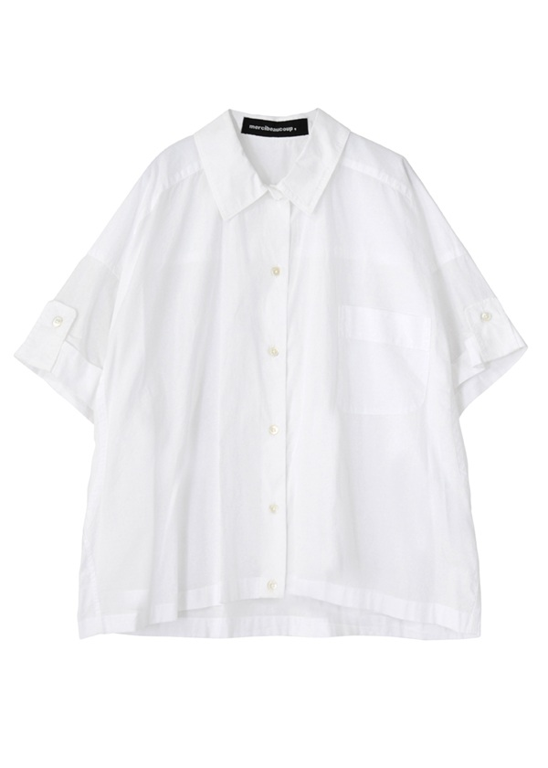 B:メンシャツ 白