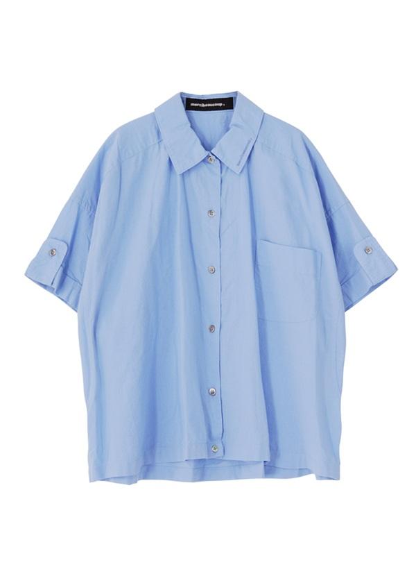 B:メンシャツ ライトブルー