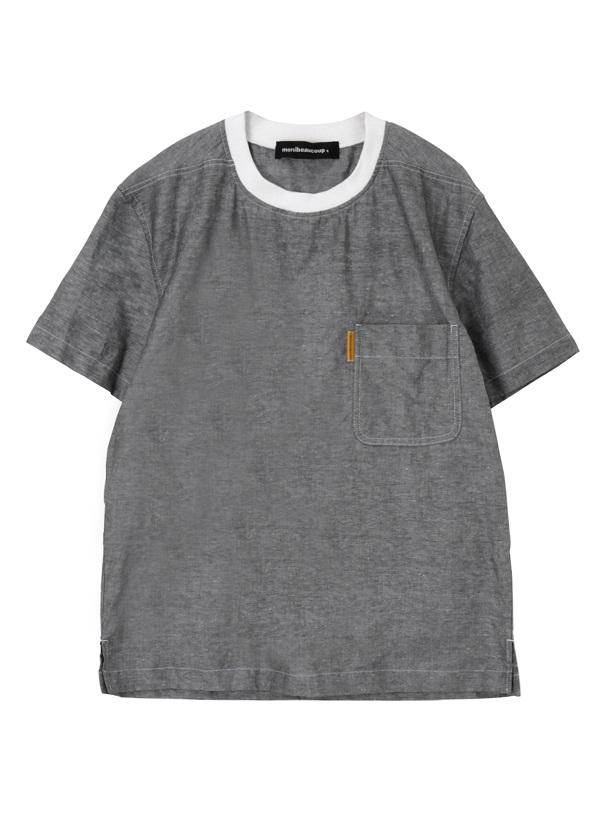 シャツシャツ チャコールグレー
