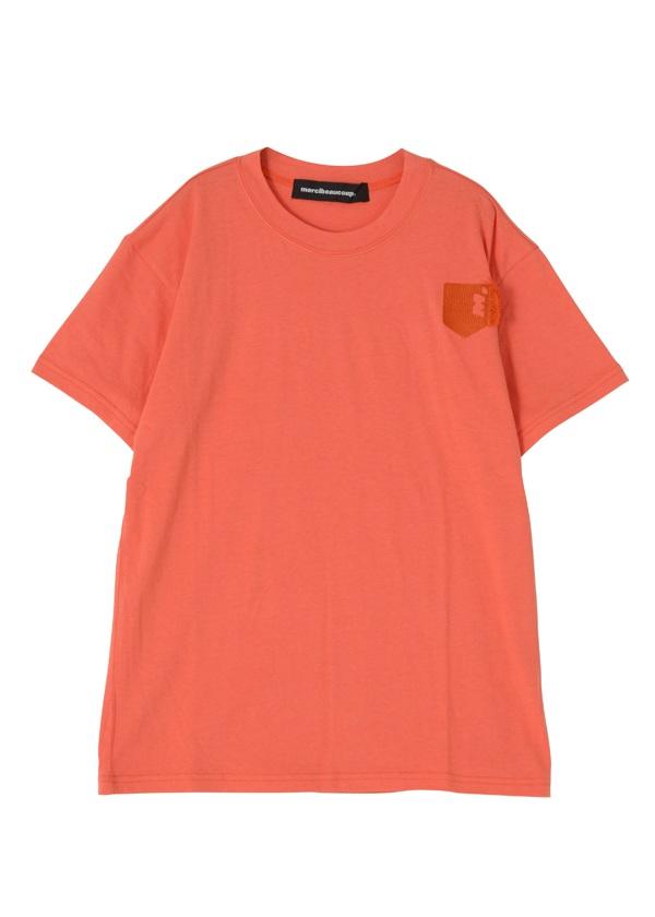B:ゴシキししゅうT オレンジ / レンガ