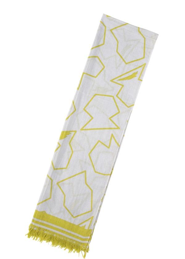 【SALE】メルシーボークー、 / S ツボガラストール / ストール シルバーグレー