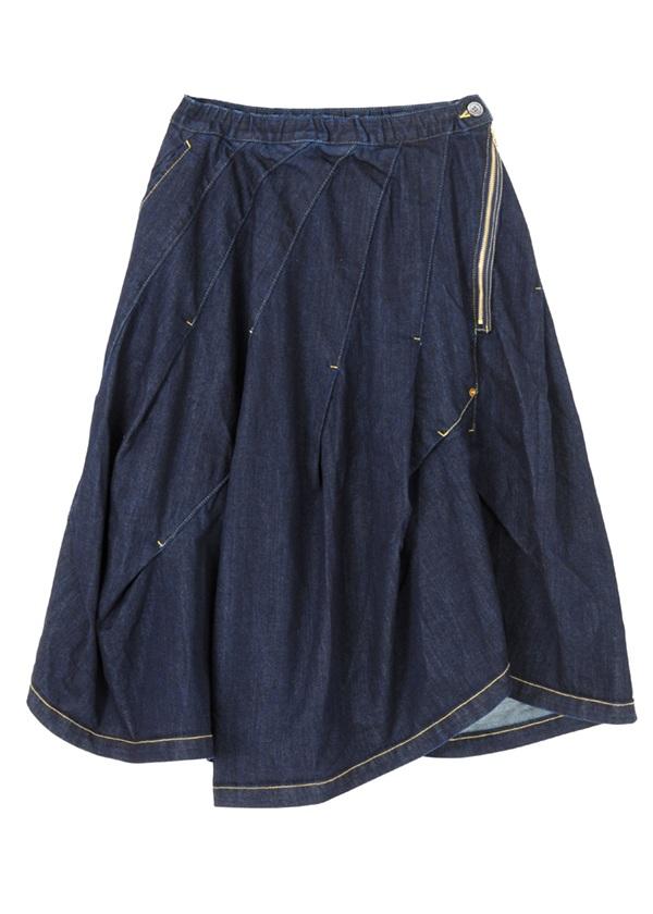 メルシーボークー、 / B:デニふわスカ / スカート ネイビー