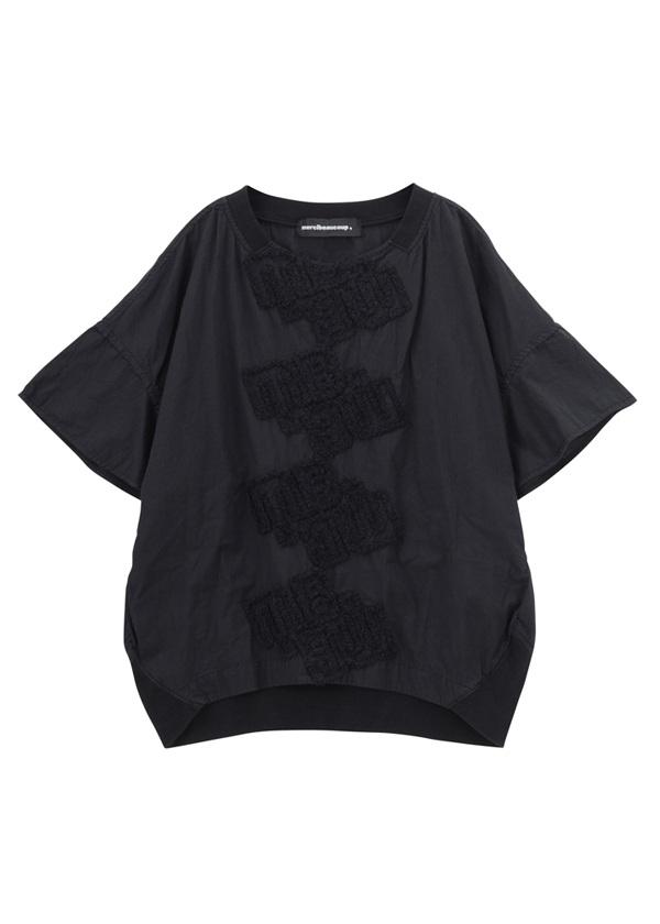 B:ロゴレース 黒
